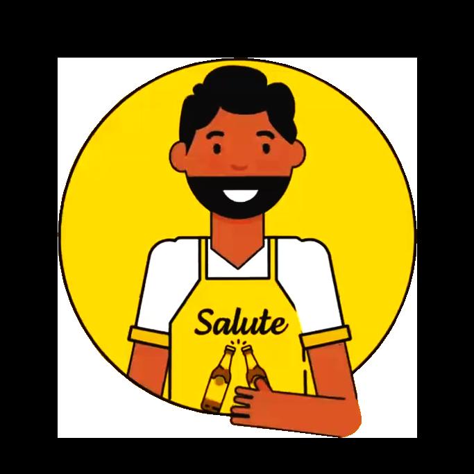 Ícone de um garçom